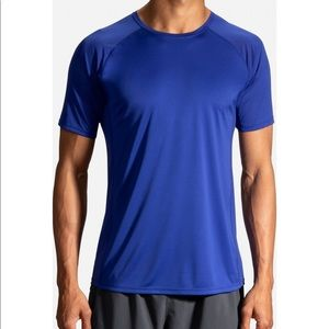 NWT Brooks Stealth Athletic Workout Top Cobalt XS